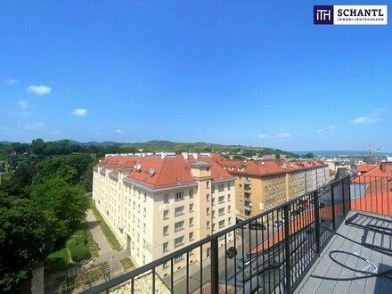 Der Traum aller Wohnungen: Penthouse + 5-Zimmer-Wohnung + 130 m² Terrassenflächen + Traumhafter Blick + perfekte Infras…