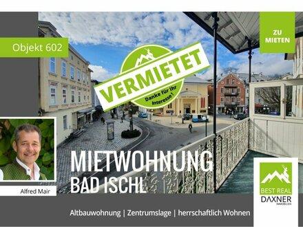 Vermietet! Freundliche Altbauwohnung im Zentrum von Bad Ischl zu mieten!
