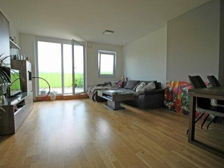 neuwertige Wohnung mit großer Dachterrasse