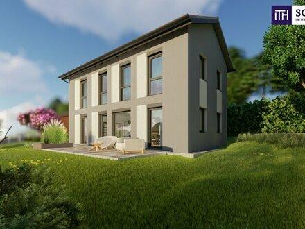 KAUFEN SIE QUALITÄT - Einfamilienhaus im Bezirk Deutschlandsberg eingebettet in einer äußerst idyllischen Lage - auf de…