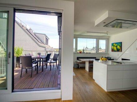 Luxus Dachgeschosswohnung mit Weitblick in zentraler Lage