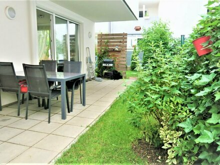 Gartenwohnung mit viel Privatsphäre in Ruhelage und direkter Zentrumsnähe