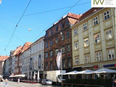 """Bürofläche in TOP LAGE: Herrengasse 3 """"Gemaltes Haus"""" in der Füßgängerzone"""