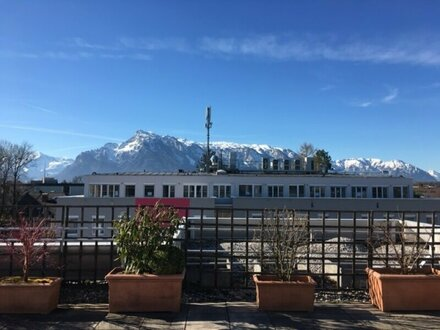 Kurzeitanmietung - Büro mit großer Dachterrasse / Untersbergblick - Salzburg - Maxglan