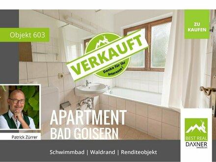 Verkauft! 2 Zi. - Apartment in Bad Goisern mit vielen Extras!