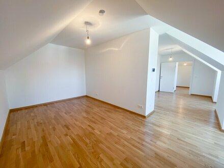 ERSTBEZUG! Dachgeschosswohnung 53 m2 Mietwohnung, Nähe U3 Enkplatz! UNBEFRISTETER Mietvertrag!