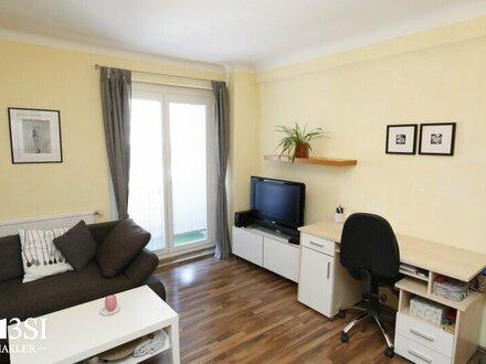 Helle 1-Zimmer Wohnung mit Freifläche Nähe Mariahilfer Straße!