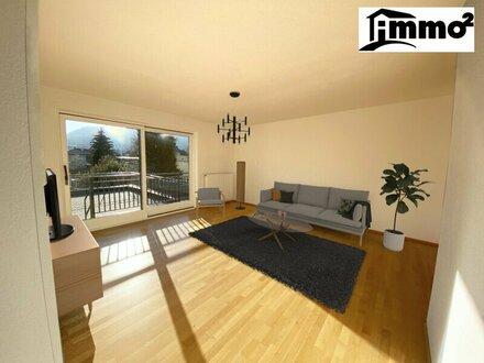 Wunderschöne, sonnige 3 Zimmerwohnung mit riesen Dachterrasse in Bestlage von Villach zu vermieten!