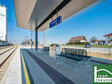 Erstbezug-Neubauwohnungen mit 3-Zimmer und Freifläche zum Vermieten ab 332.000,-- Euro! Fußbodenheizung!
