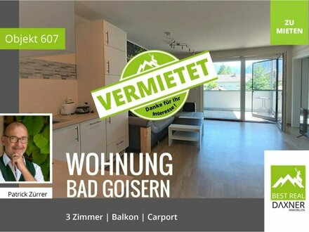 Vermietet! 3-Zimmer Mietwohnung am Hallstättersee - Bad Goisern