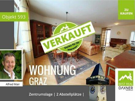 Verkauft! Graz Innenstadt - große Wohnung - Praxis oder Ordination