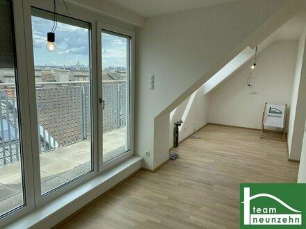 ROOFTOP DREAMS! Helle Erstbezug Dachgeschosswohnungen mit Terrassen und Wienblick in Zentrumsnähe!