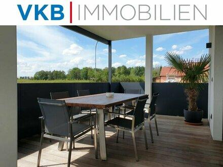 Exklusive geräumige Wohnung mit Garten und Grünblick in Linznähe