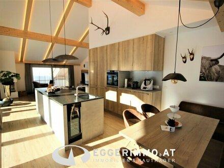 5753 Saalbach / Hinterglemm: Wohnen geht kaum schöner !! Exklusive Penthousewohnung 138m² Whnfl. , 80m² Terrasse, Weitb…