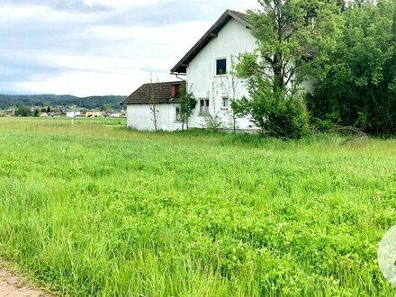 Schönes ebenes Baugrundstück mitten im Grünen