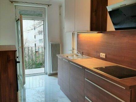 Fockygasse: Ruhige Wohnung mit Balkon