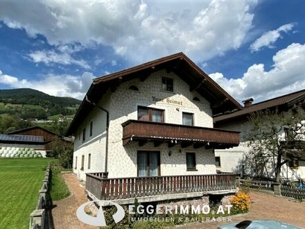 5730 Mittersill: Mehrfamilienhaus mit 3 Wohnungen, Lager, Garage, Garten, renovierungsbedürftig !!