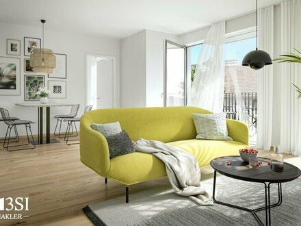 Lemonie: Moderner 2-Zimmer Dachgeschoss-Erstbezug in Ottakring
