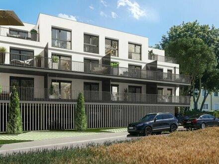 Wohnungen im Ortszentrum von Vösendorf, mit Loggia, Garagenstellplatz