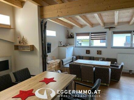 Saalbach-Hinterglemm: Dachgeschoßwohnung, 5 Schlafzimmer, 125,48m², renoviert, möbliert, 2 Balkone, touristisch vermiet…