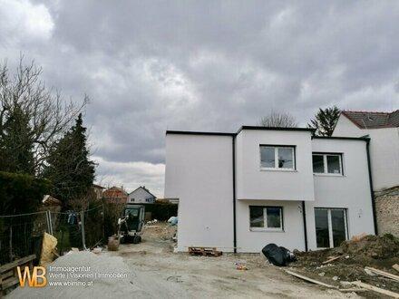 Vor Fertigstellung! Exklusives und modernes Wohnbauprojekt mit einem Einfamilienhaus und 2 Doppelhaushälften!