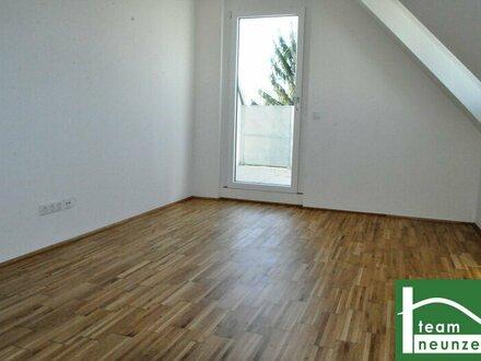 NÄHE U1 KAGRAN! Charmanter ca. 56 m2 Neubau mit ca. 9 m2 Terrasse, 2 Zimmer, Fußbodenheizung! PROVISIONSFREI BEI ANMIET…