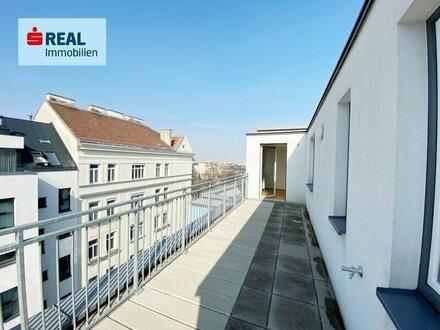 Dachgeschoßwohnung im Erstbezug mit 2 Terrassen