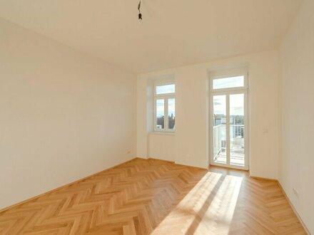++NEU++ TOP-sanierte, Toll geschnittene, 3-Zimmer ALTBAUwohnung mit fantastischem Südbalkon!