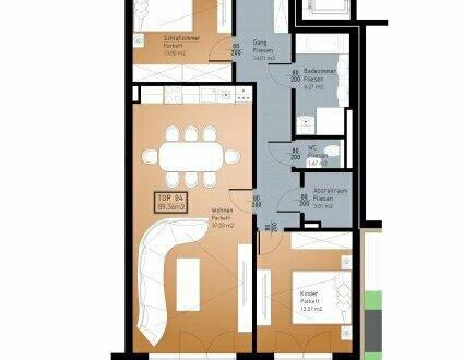 IN PLANUNG - NEUES BAUVORHABEN IM ZENTRUM VON RANSHOFEN (OÖ) - 3 Zimmer-Garten-Wohnung mit Terrasse!