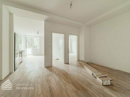 Erstbezug! Einzigartige 2-Zimmer Wohnung mit Balkon in Bahnhofsnähe