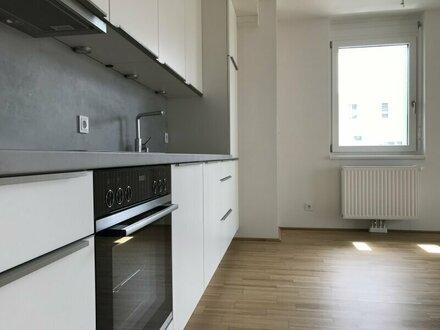 ERSTBEZUG & DACHGARTEN & JAHRESKARTE WR. LINIEN: Freundliche 2-Zimmer-Wohnung inkl. KÜCHE und großzügiger LOGGIA in U-B…