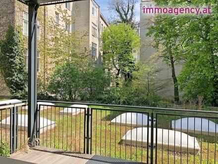 großzügiges Loft Büro mit Balkon im Margareten!