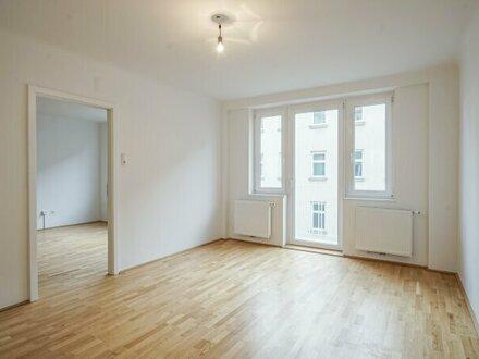 2-Zimmer Wohnung mit Balkon - Erstbezug nach Sanierung