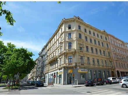 Zentrales historisches Innenstadtbüro mit wunderschönen Stadtparkblick