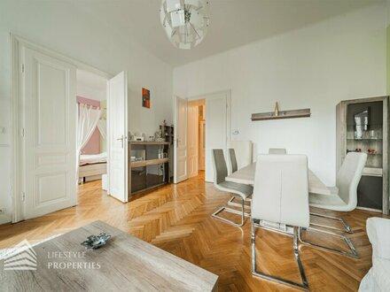 Große 8-Zimmer Familienwohnung mit Balkon in Josefstadt