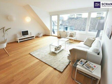 Wohntraum im Dach auf einer Ebene! Ruhiger Mitteltrakt + Fantastisches Grätzl + Perfekte Infrastruktur + Ideale Anbindu…
