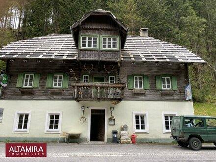 Nähe Nationalpark Gesäuse! Ehemaliges Gasthaus -zur Alleinnutzung oder zum Umbau in Appartments geeignet