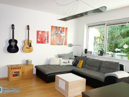 Beliebtes Aigen - schicke 3-Zimmer-Wohnung mit Grünblick