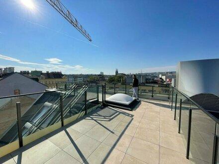 wunderschöne 3-Zimmer Dachgeschosswohnung mit zwei Terrassen im 17. Bezirk