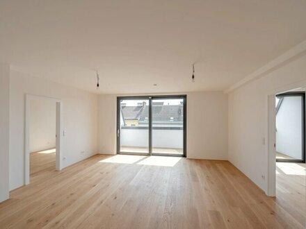 ++Projekt TG 17++ Fantastische 3-Zimmer Dachgeschosswohnung mit 11m² Terrasse! alles auf einer Ebene!