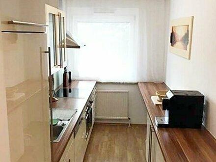 UNBEFRISTETE, helle 2 Zimmer Wohnung mit Balkon - möbliert - grünblick!