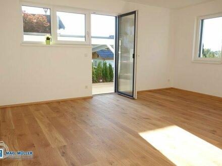 Traumhafte 2-Zimmer-TerrassenWohnung & Garten - Topneubau in Henndorf