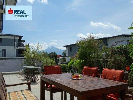 Bezaubernde 3-Zimmer-Mietwohnung mit Garten in Mondsee
