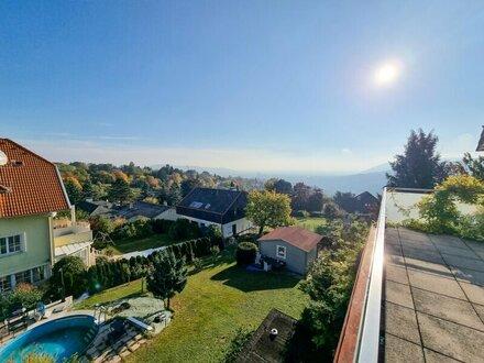 Helle Familienwohnung mit Terrasse und Loggia / ruhige Lage mit Stiftsblick!