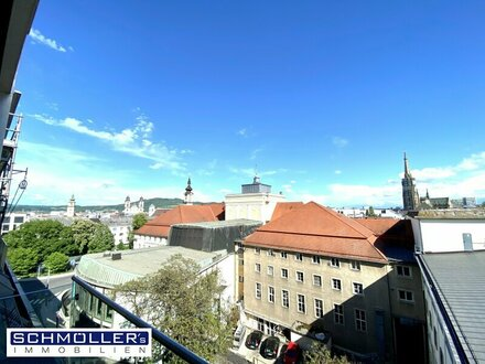 Exklusive Dachgeschoss-Wohnung im Herzen von Linz