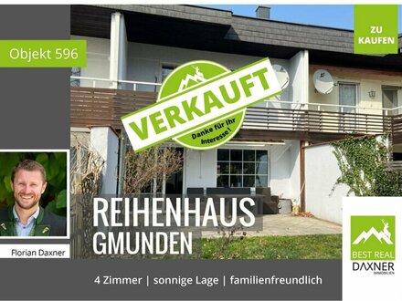 VERKAUFT! Reizendes Reihenhaus in ruhiger Lage von Gmunden!