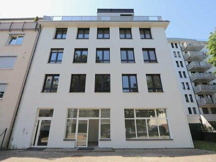 Bürofläche mit großer Fenster-Front direkt an Gersthofer Straße