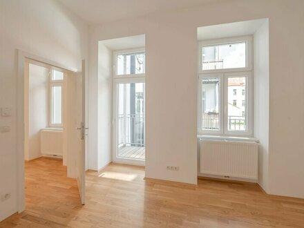 ++NEU++ Großartiger 1-Zimmer ERSTBEZUG mit ca. 6m² Balkon in einen begrünten Innenhof!