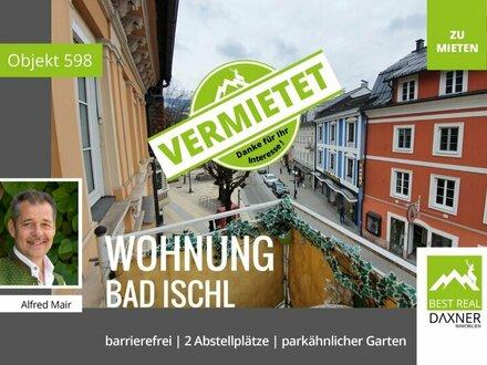 Vermietet! Große Mietwohnung mit Mehrwert im Zentrum von Bad Ischl