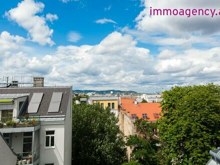 Hochwertige 2 Zimmer Dachgeschoßwohnung mit Terrasse in Hofruhelage